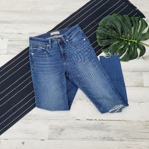 """Madewell  9"""" High-Rise Skinny Crop Jeans Size 26"""